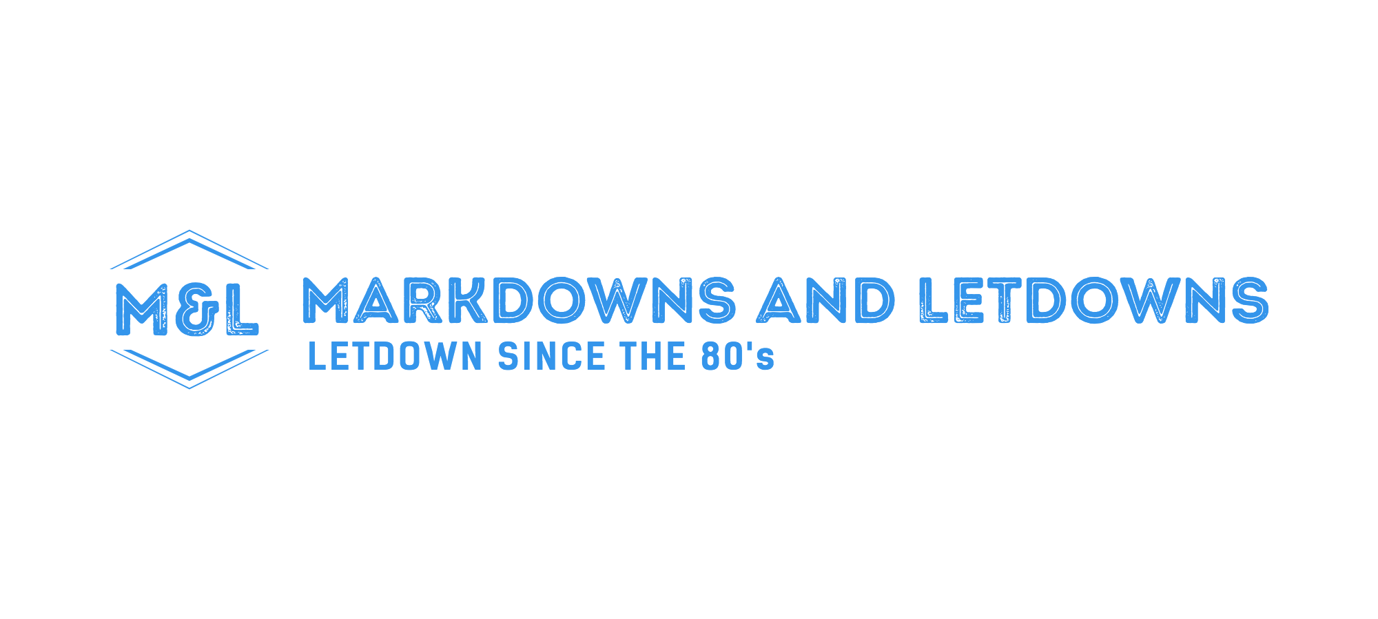 Markdowns and Letdowns