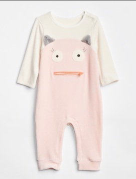 Monster Graphic One-Piece