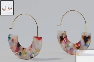 Marbleized_Pull_Through_Hoop_Earrings___LOFT