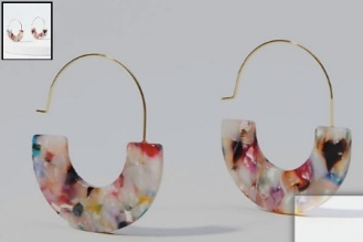 Marbleized_Pull_Through_Hoop_Earrings___LOFT