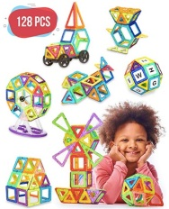 Amazon_com__Magnetic_Blocks_-_128_pcs_Large_Set___Storage_Box_-_3D_Building_Educational_Toys_for_Boys_and_Girls_-_Great_for_3__Years_Old_Toddlers_and_Kids_-_Tiles_with_Innovative_Build_M