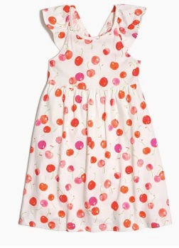 J_Crew_Factory__Girls__flutter-sleeve_dress_in_cherry_print