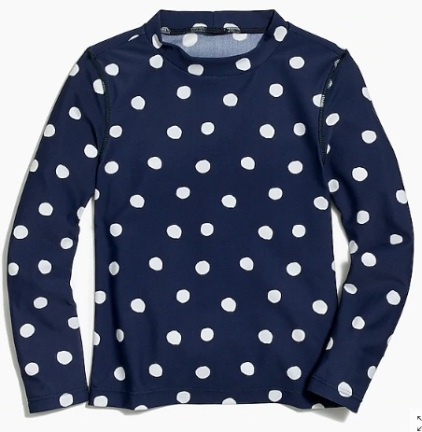 J_Crew_Factory__Girls__rashguard_in_dots