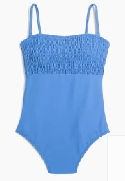 J_Crew_Factory__Smocked_one-piece_swimsuit