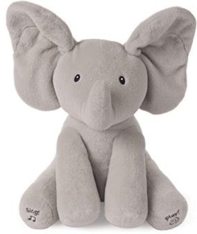 Amazon_com__Baby_GUND_Animated_Flappy_the_Elephant_Stuffed_Animal_Plush__Gray__12___Toys___Games