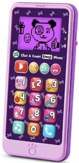 Amazon_com__LeapFrog_Chat_and_Count_Emoji_Phone__Purple__Great_Gift_For_Kids__Toddlers__Toy_for_Boys_and_Girls__Ages_2__3__4__5__Toys___Games